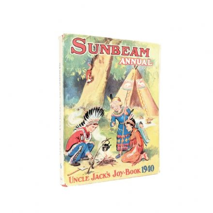 Sunbeam Annual 1940 Published by The Amalgamated Press 1939